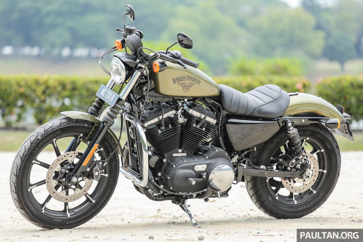 REVIEW: 2016 Harley-Davidson Sportster Iron 883 - not your grandfather's Harley-Davidson, son
