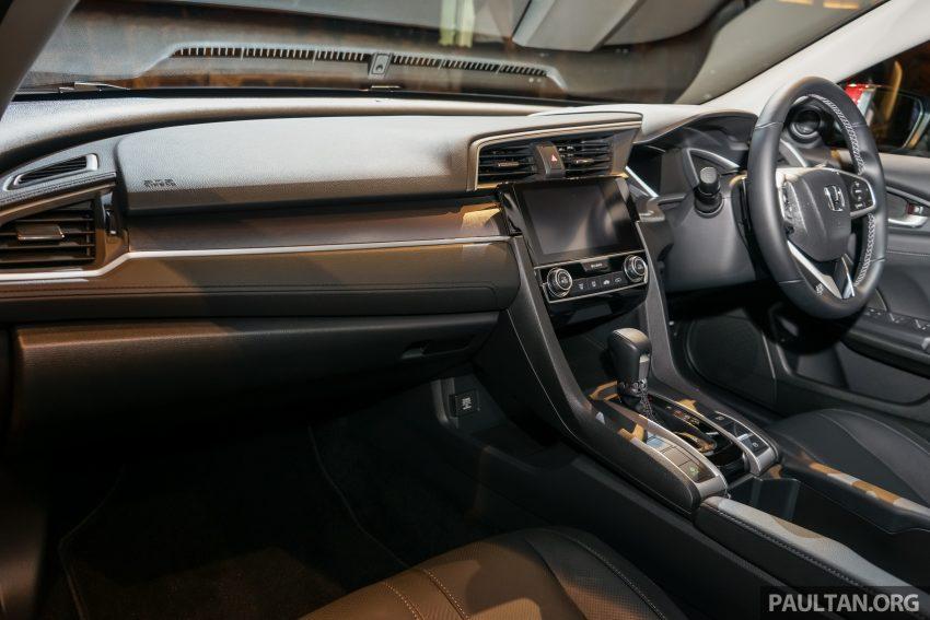 Honda Civic 2016 dilancarkan di M'sia – 1.8L dan 1.5L VTEC Turbo; tiga varian dan harga bermula RM111k Image #506315