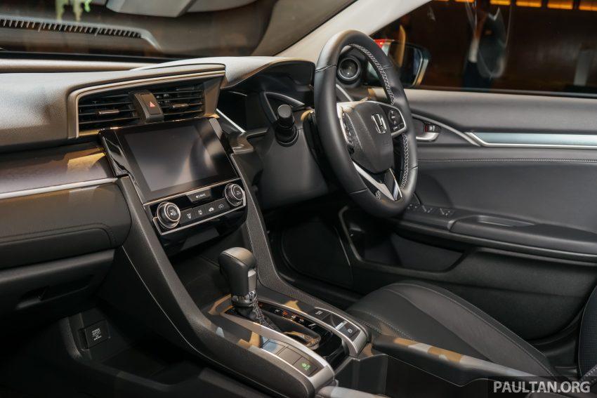 Honda Civic 2016 dilancarkan di M'sia – 1.8L dan 1.5L VTEC Turbo; tiga varian dan harga bermula RM111k Image #506316