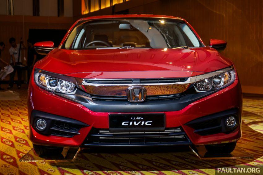 Honda Civic 2016 dilancarkan di M'sia – 1.8L dan 1.5L VTEC Turbo; tiga varian dan harga bermula RM111k Image #506303