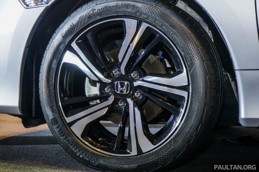 Honda Civic 2016 dilancarkan di M'sia – 1.8L dan 1.5L VTEC Turbo; tiga varian dan harga bermula RM111k Image #505926