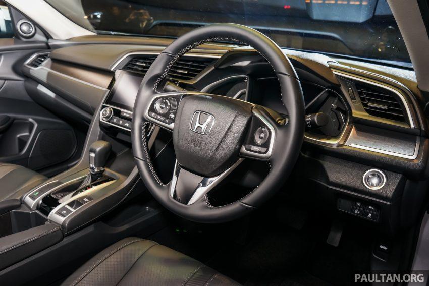 Honda Civic 2016 dilancarkan di M'sia – 1.8L dan 1.5L VTEC Turbo; tiga varian dan harga bermula RM111k Image #505931