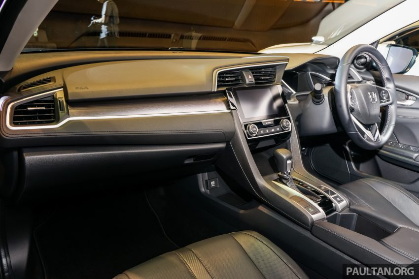 Honda Civic 2016 dilancarkan di M'sia – 1.8L dan 1.5L VTEC Turbo; tiga varian dan harga bermula RM111k Image #505933