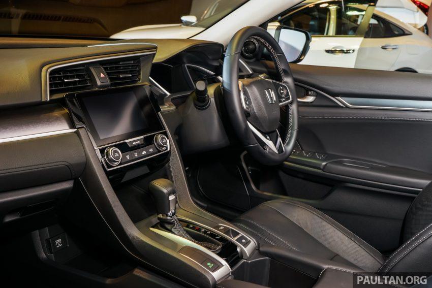 Honda Civic 2016 dilancarkan di M'sia – 1.8L dan 1.5L VTEC Turbo; tiga varian dan harga bermula RM111k Image #505934