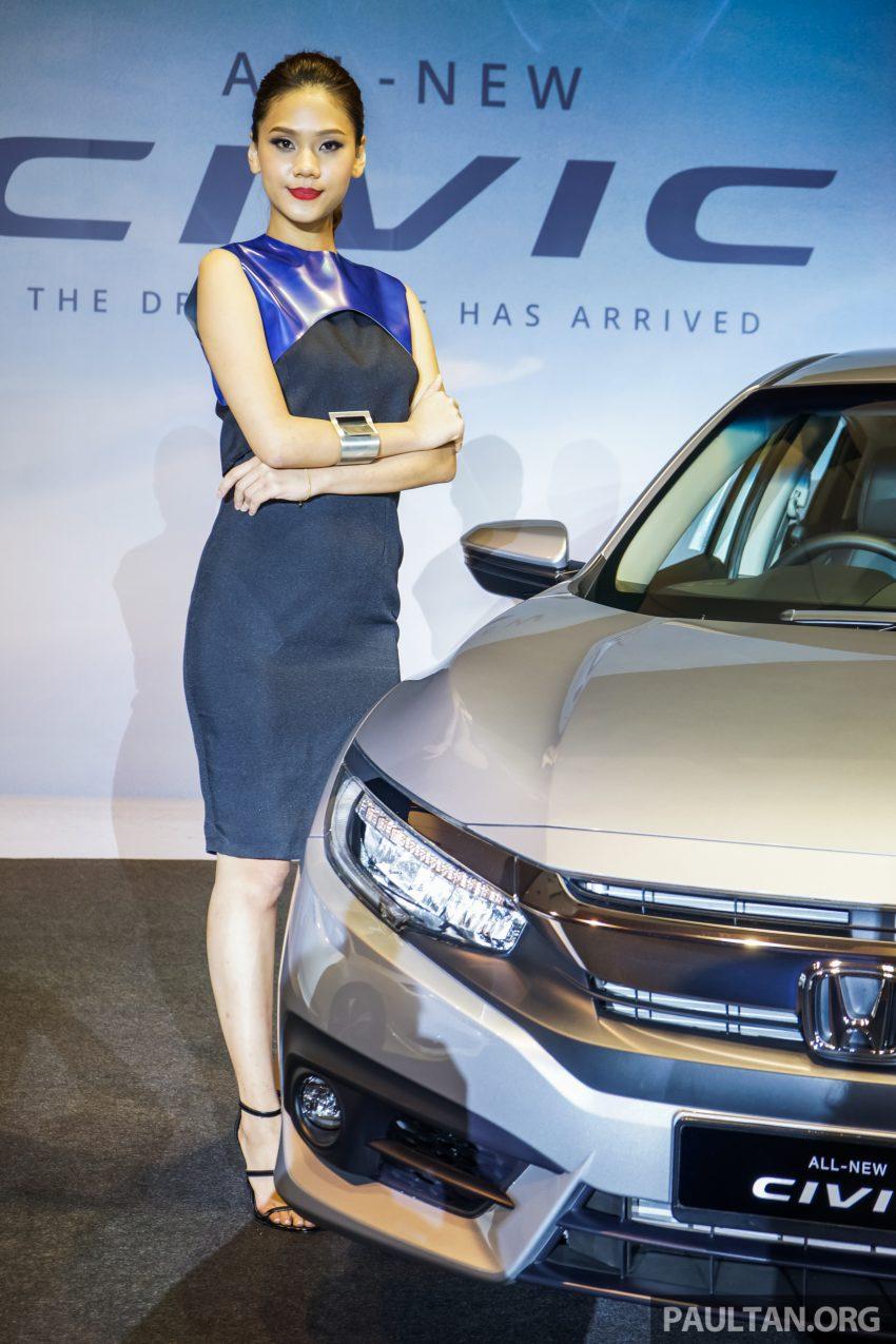 Honda Civic 2016 dilancarkan di M'sia – 1.8L dan 1.5L VTEC Turbo; tiga varian dan harga bermula RM111k Image #505917