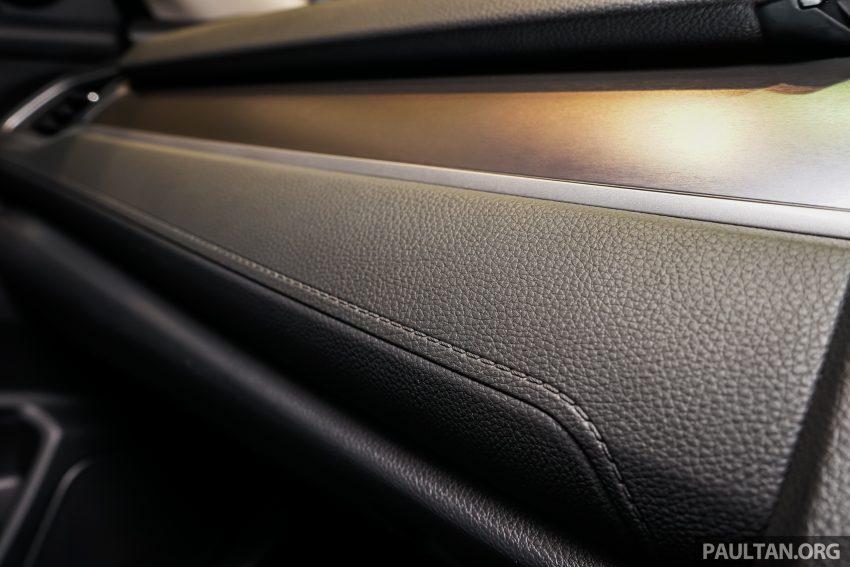 Honda Civic 2016 dilancarkan di M'sia – 1.8L dan 1.5L VTEC Turbo; tiga varian dan harga bermula RM111k Image #505950