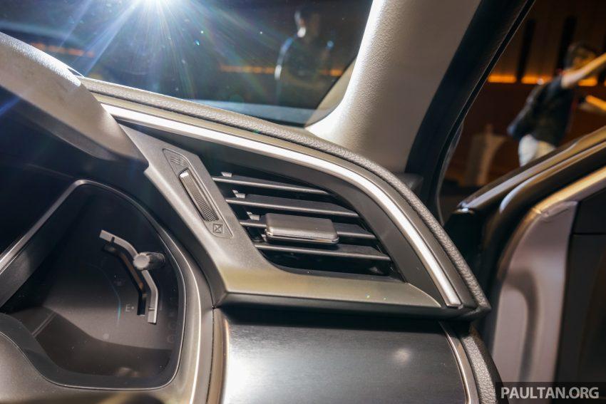 Honda Civic 2016 dilancarkan di M'sia – 1.8L dan 1.5L VTEC Turbo; tiga varian dan harga bermula RM111k Image #505953