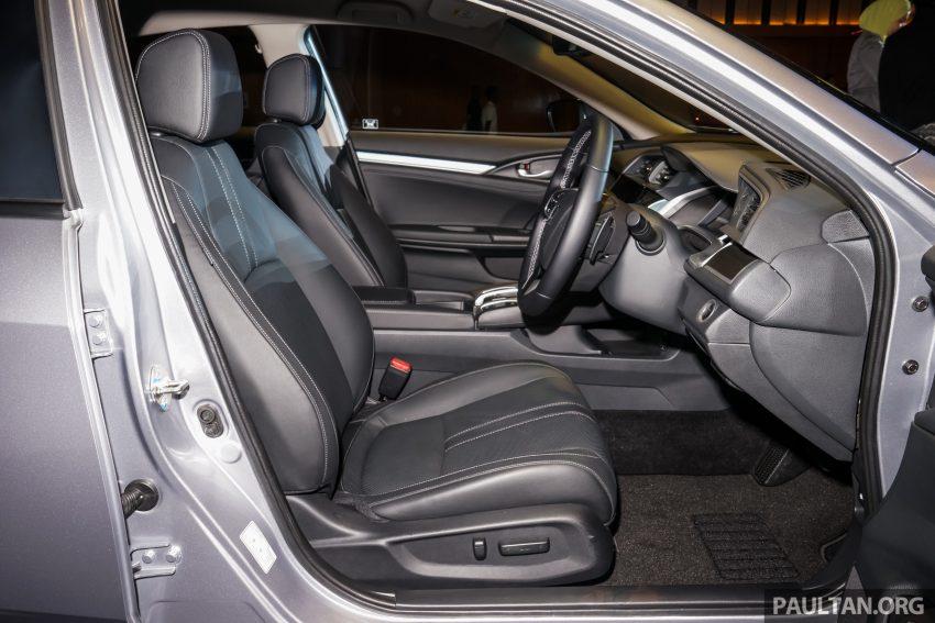 Honda Civic 2016 dilancarkan di M'sia – 1.8L dan 1.5L VTEC Turbo; tiga varian dan harga bermula RM111k Image #505958