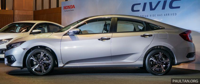 Honda Civic 2016 dilancarkan di M'sia – 1.8L dan 1.5L VTEC Turbo; tiga varian dan harga bermula RM111k Image #505921