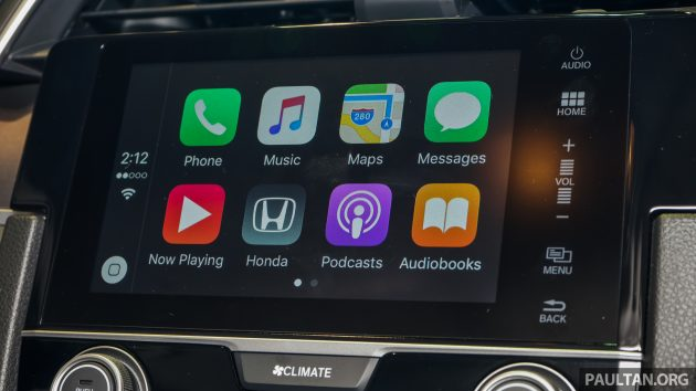 2016 Honda Civic 1.5T Premium Display Audio 5