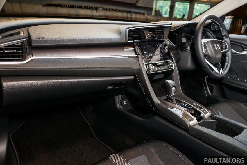 Honda Civic 2016 dilancarkan di M'sia – 1.8L dan 1.5L VTEC Turbo; tiga varian dan harga bermula RM111k Image #506345