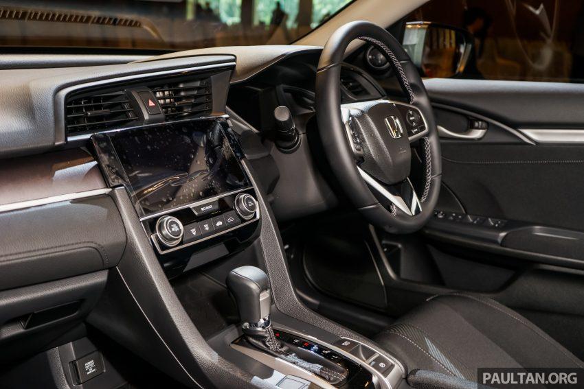 Honda Civic 2016 dilancarkan di M'sia – 1.8L dan 1.5L VTEC Turbo; tiga varian dan harga bermula RM111k Image #506346