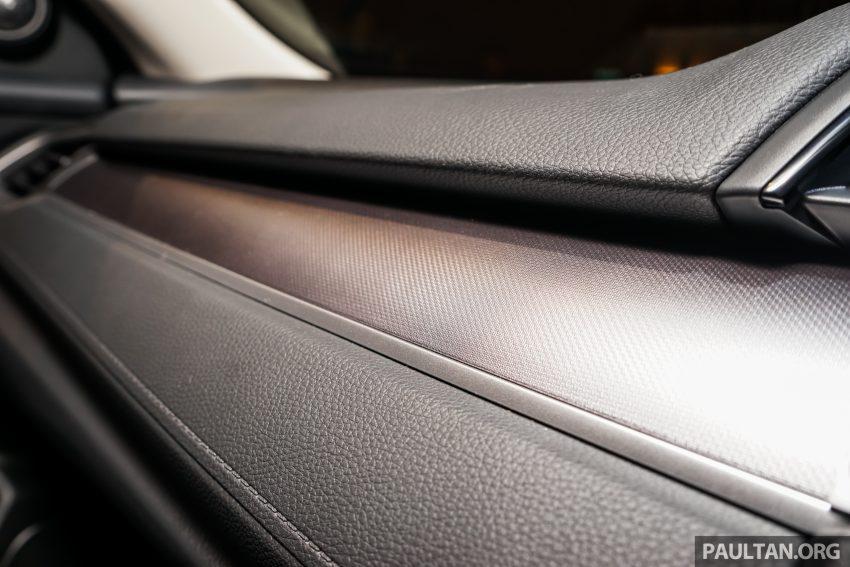 Honda Civic 2016 dilancarkan di M'sia – 1.8L dan 1.5L VTEC Turbo; tiga varian dan harga bermula RM111k Image #506348