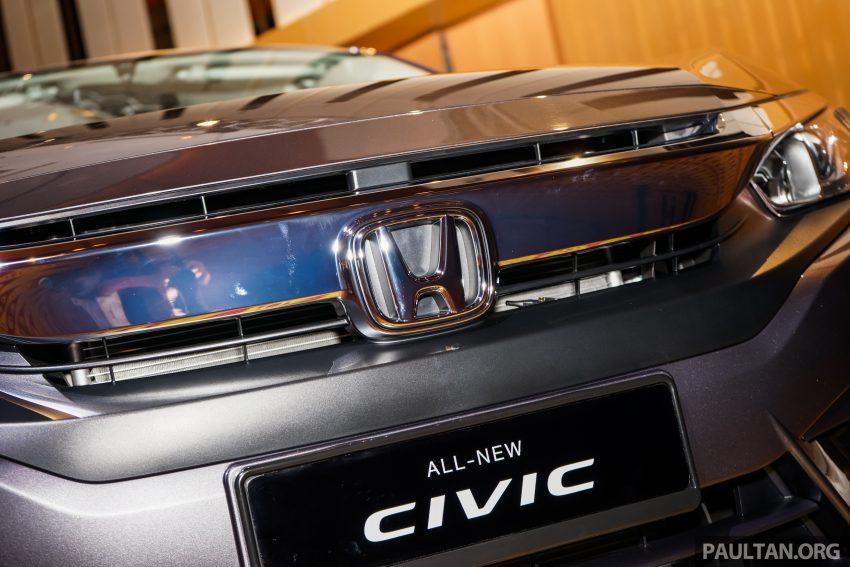 Honda Civic 2016 dilancarkan di M'sia – 1.8L dan 1.5L VTEC Turbo; tiga varian dan harga bermula RM111k Image #506337