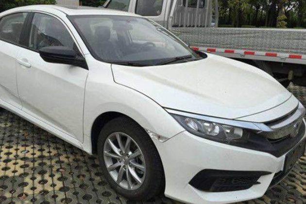 2016 Honda Civic 180Turbo China 1