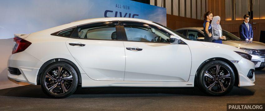 Honda Civic 2016 dilancarkan di M'sia – 1.8L dan 1.5L VTEC Turbo; tiga varian dan harga bermula RM111k Image #506236