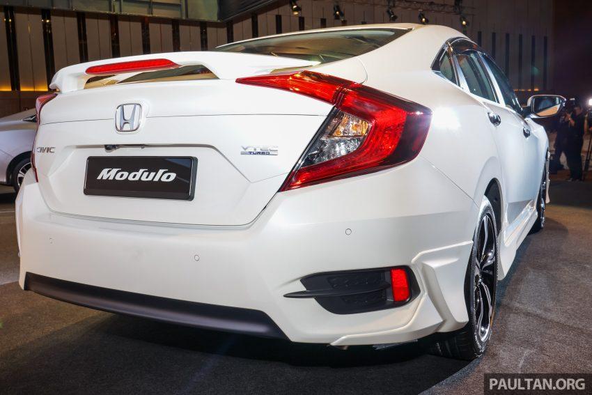 Honda Civic 2016 dilancarkan di M'sia – 1.8L dan 1.5L VTEC Turbo; tiga varian dan harga bermula RM111k Image #506234