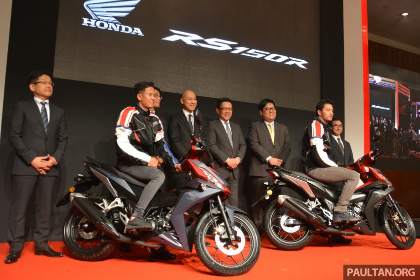 Honda RS150R 2016 dilancarkan di Malaysia – tampil dengan dua varian, harga dari RM8,213 Image #507329