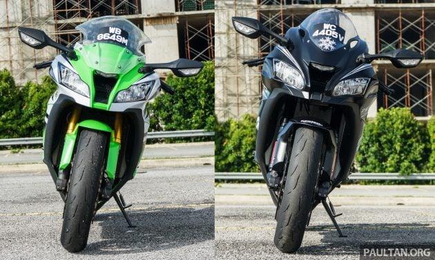 2016 Kawasaki ZX-10R vs 2015 Kawasaki ZX-10R -1