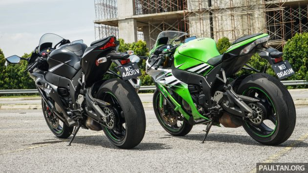 Gallery 2016 And 2015 Kawasaki Zx 10r Comparo