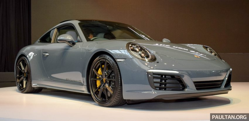 Porsche 911 facelift launched – Carrera, Carrera S and Carrera 4S, new 3.0 litre turbo flat-six, from RM870k Image #509953