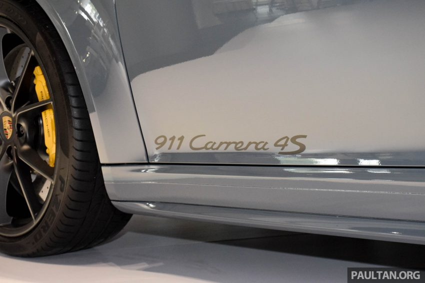 Porsche 911 facelift launched – Carrera, Carrera S and Carrera 4S, new 3.0 litre turbo flat-six, from RM870k Image #509963