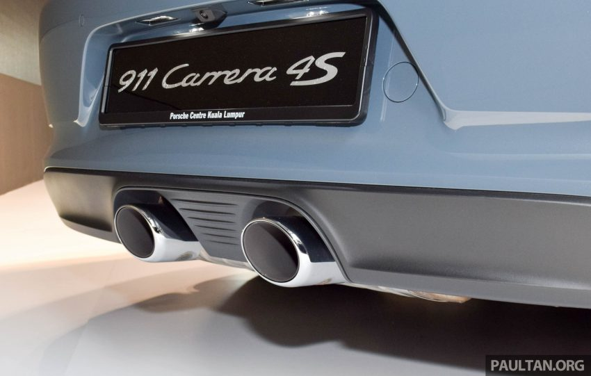 Porsche 911 facelift launched – Carrera, Carrera S and Carrera 4S, new 3.0 litre turbo flat-six, from RM870k Image #509968