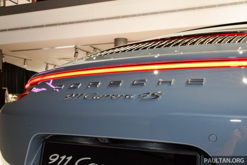 Porsche 911 facelift launched – Carrera, Carrera S and Carrera 4S, new 3.0 litre turbo flat-six, from RM870k Image #509969