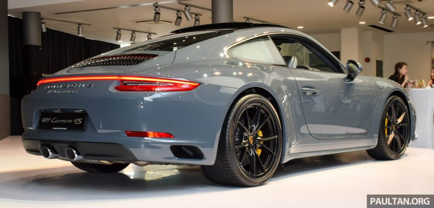 Porsche 911 facelift launched – Carrera, Carrera S and Carrera 4S, new 3.0 litre turbo flat-six, from RM870k Image #509954