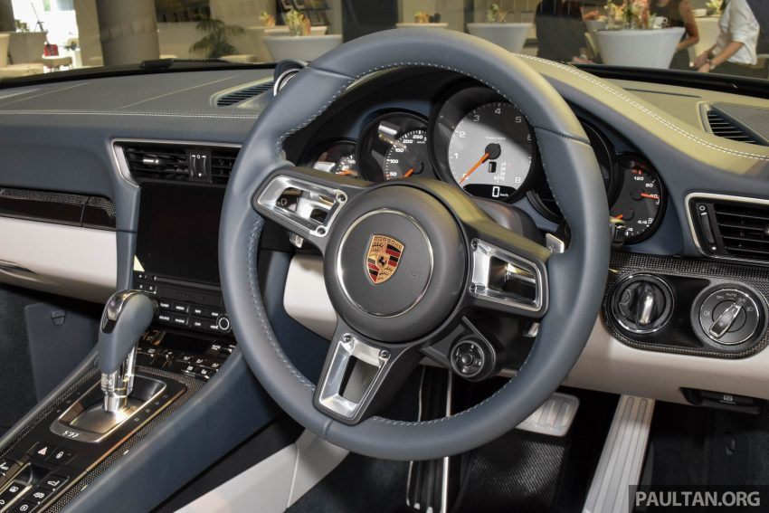 Porsche 911 facelift launched – Carrera, Carrera S and Carrera 4S, new 3.0 litre turbo flat-six, from RM870k Image #509974