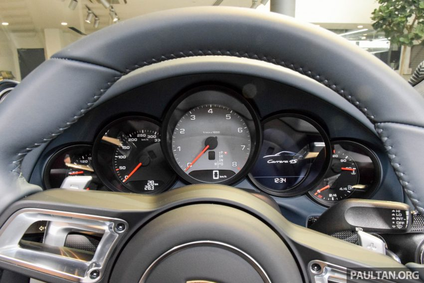 Porsche 911 facelift launched – Carrera, Carrera S and Carrera 4S, new 3.0 litre turbo flat-six, from RM870k Image #509982