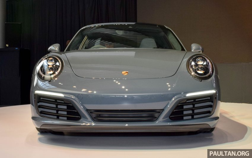 Porsche 911 facelift launched – Carrera, Carrera S and Carrera 4S, new 3.0 litre turbo flat-six, from RM870k Image #509955