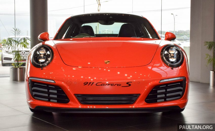 Porsche 911 facelift launched – Carrera, Carrera S and Carrera 4S, new 3.0 litre turbo flat-six, from RM870k Image #510011