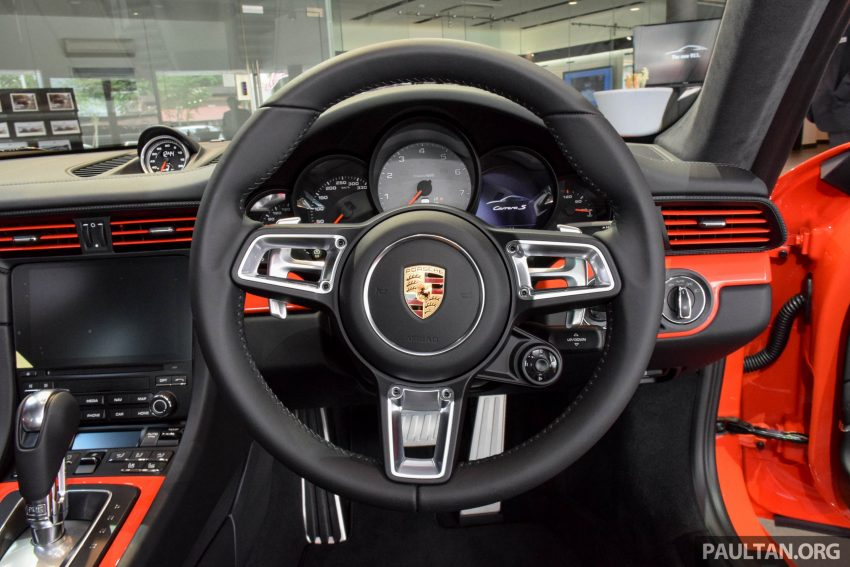 Porsche 911 facelift launched – Carrera, Carrera S and Carrera 4S, new 3.0 litre turbo flat-six, from RM870k Image #510039