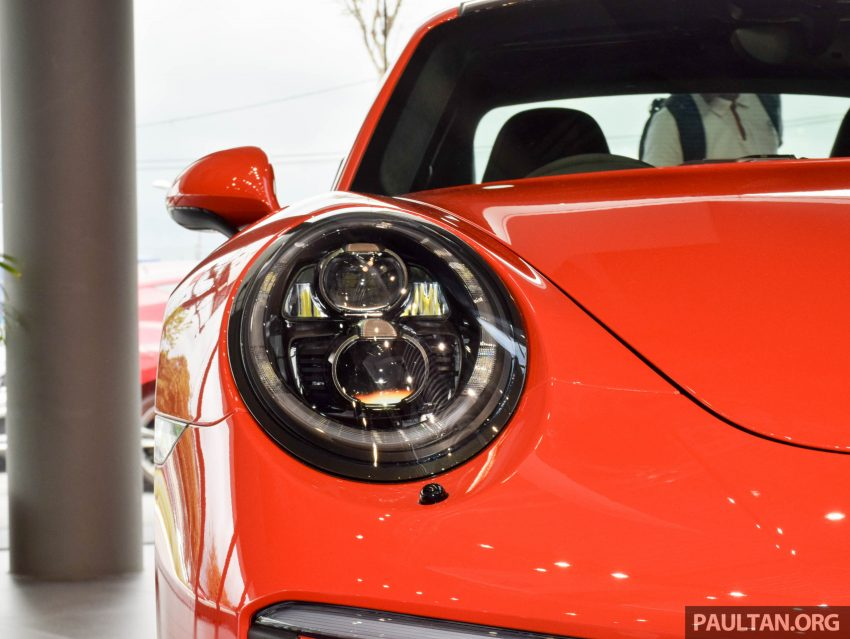 Porsche 911 facelift launched – Carrera, Carrera S and Carrera 4S, new 3.0 litre turbo flat-six, from RM870k Image #510019