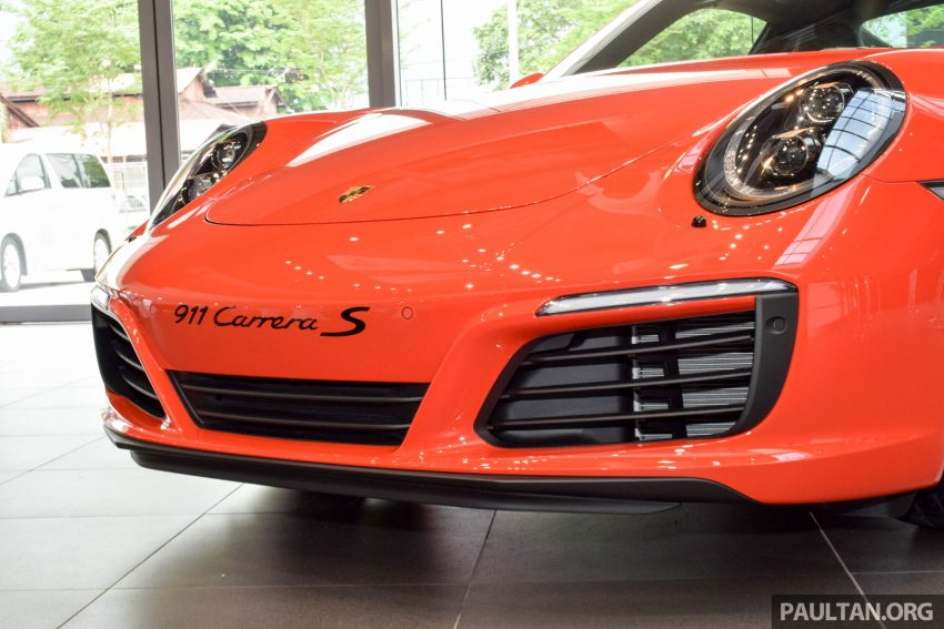 Porsche 911 facelift launched – Carrera, Carrera S and Carrera 4S, new 3.0 litre turbo flat-six, from RM870k Image #510023