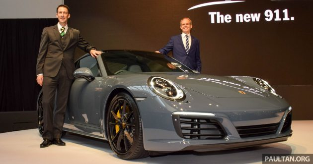 2016 Porsche 911 facelift launch 1