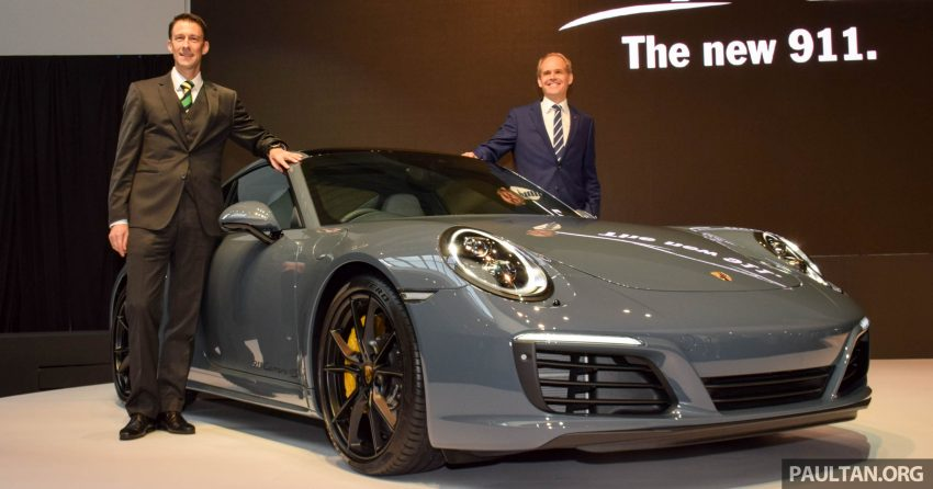 Porsche 911 facelift launched – Carrera, Carrera S and Carrera 4S, new 3.0 litre turbo flat-six, from RM870k Image #509713