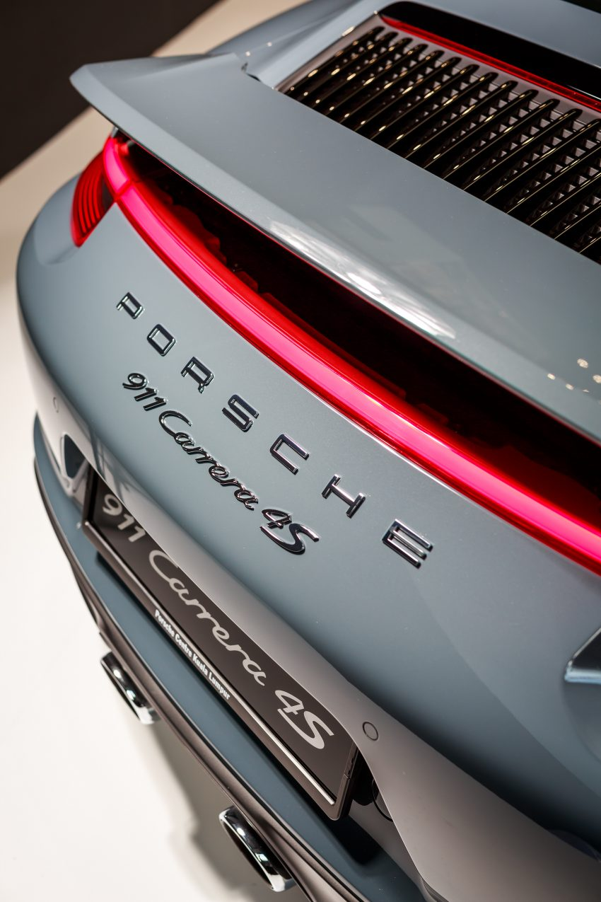 Porsche 911 facelift launched – Carrera, Carrera S and Carrera 4S, new 3.0 litre turbo flat-six, from RM870k Image #509671