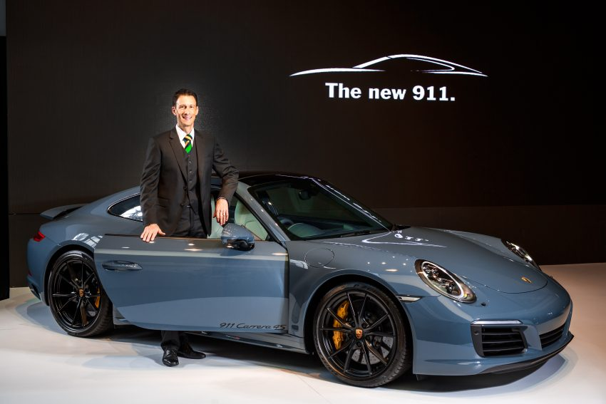 Porsche 911 facelift launched – Carrera, Carrera S and Carrera 4S, new 3.0 litre turbo flat-six, from RM870k Image #509676