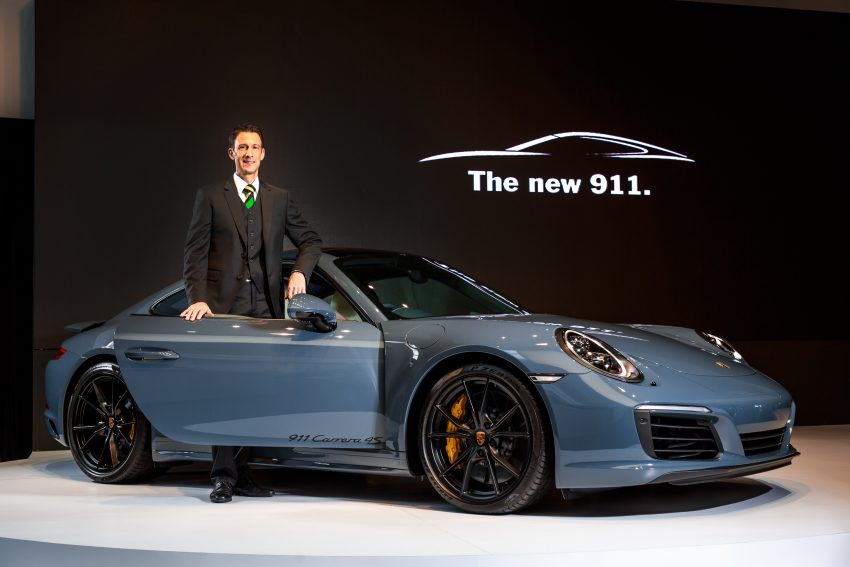 Porsche 911 facelift launched – Carrera, Carrera S and Carrera 4S, new 3.0 litre turbo flat-six, from RM870k Image #509677