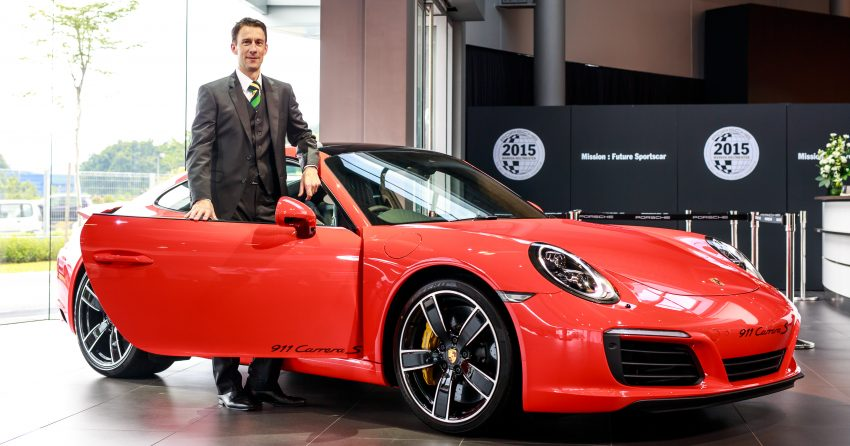 Porsche 911 facelift launched – Carrera, Carrera S and Carrera 4S, new 3.0 litre turbo flat-six, from RM870k Image #509678