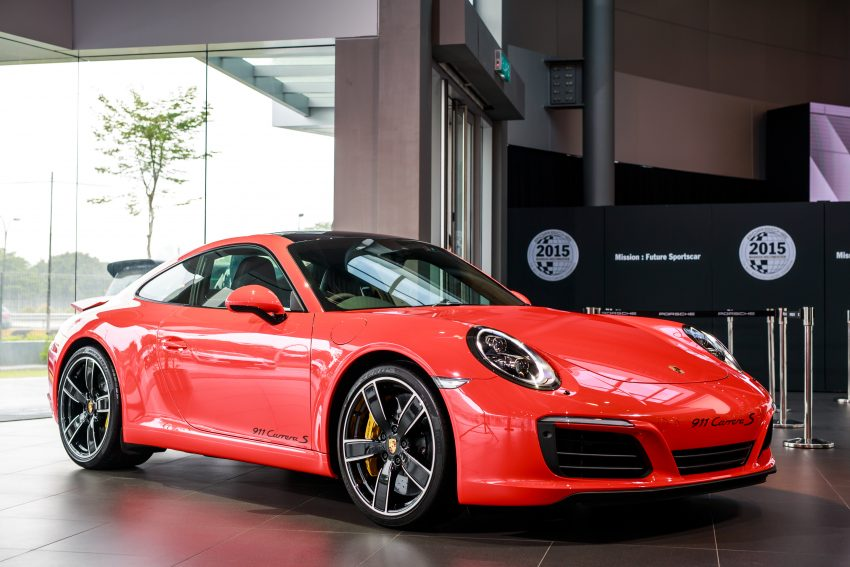 Porsche 911 facelift launched – Carrera, Carrera S and Carrera 4S, new 3.0 litre turbo flat-six, from RM870k Image #509681