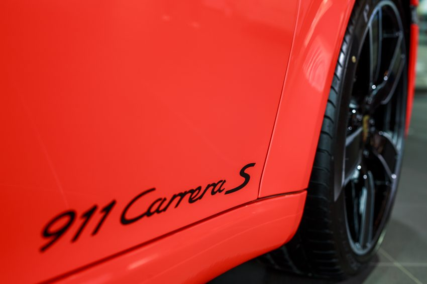 Porsche 911 facelift launched – Carrera, Carrera S and Carrera 4S, new 3.0 litre turbo flat-six, from RM870k Image #509684