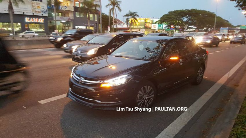 2016 Proton Perdana spotted arriving at dealership Image #503538