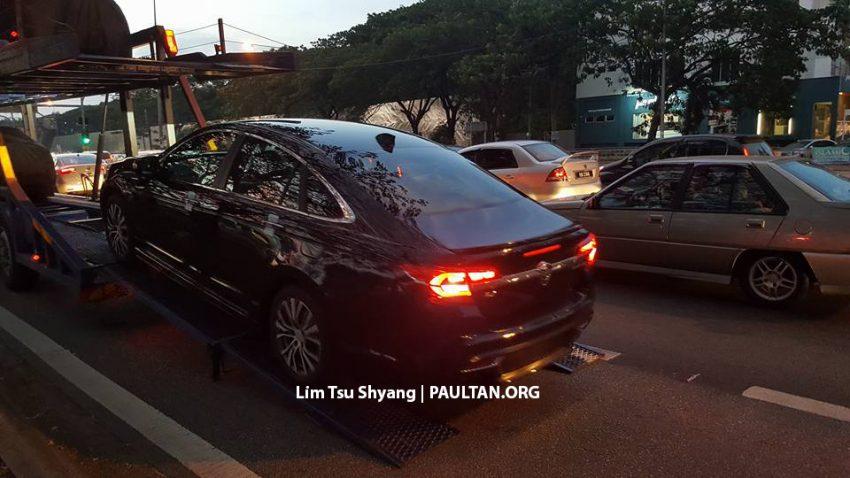 2016 Proton Perdana spotted arriving at dealership Image #503540