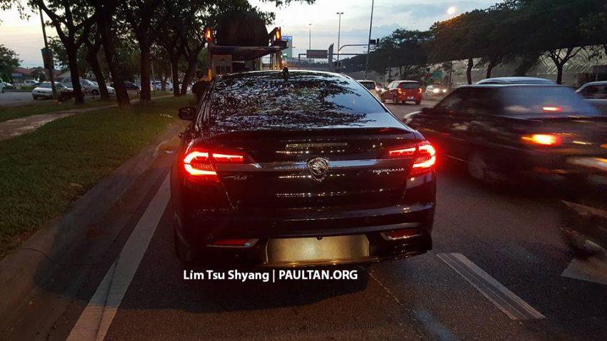 2016 Proton Perdana spotted arriving at dealership Image #503542