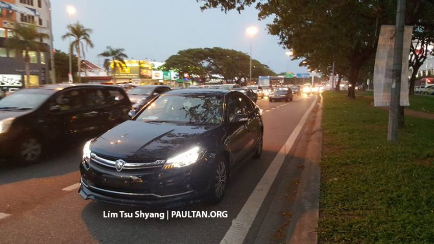 2016 Proton Perdana spotted arriving at dealership Image #503543