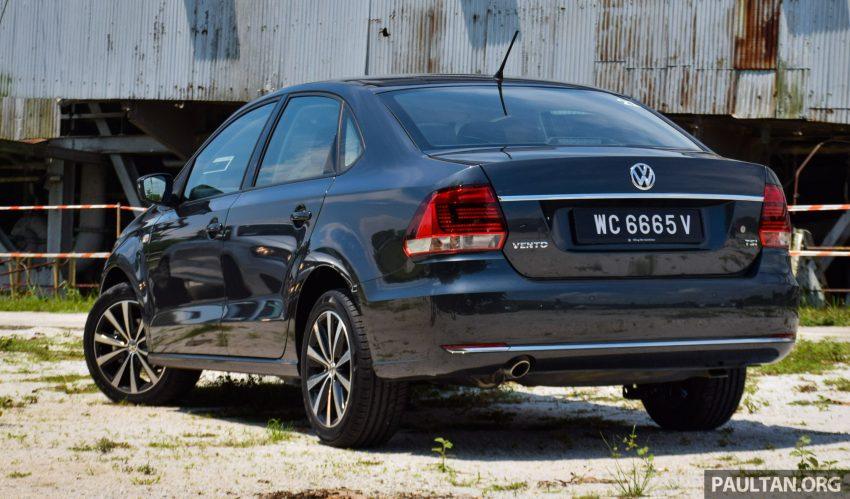 DRIVEN: 2016 Volkswagen Vento 1.2 TSI Highline Image #511664