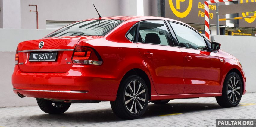 PANDU UJI: Volkswagen Vento 1.2 TSI Highline Image #512516
